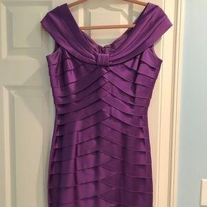 Jones New York dress size 4 Beautiful Purple